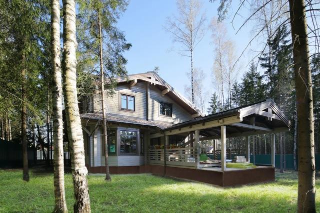 дорогие дома по минскому шоссе